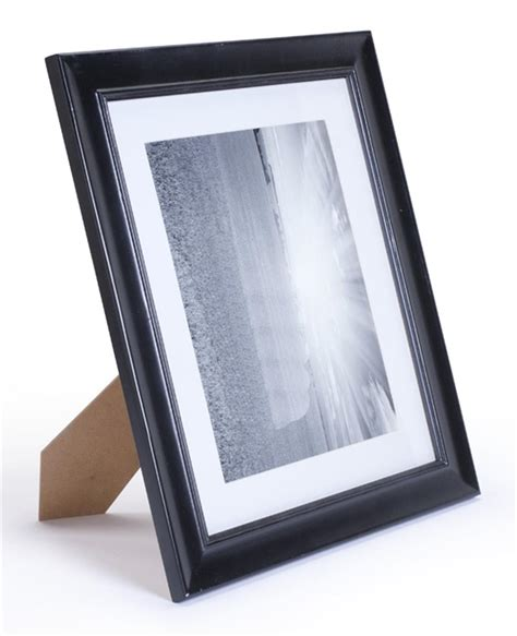 picture frame mats black picture frame removable matting 8 x 11