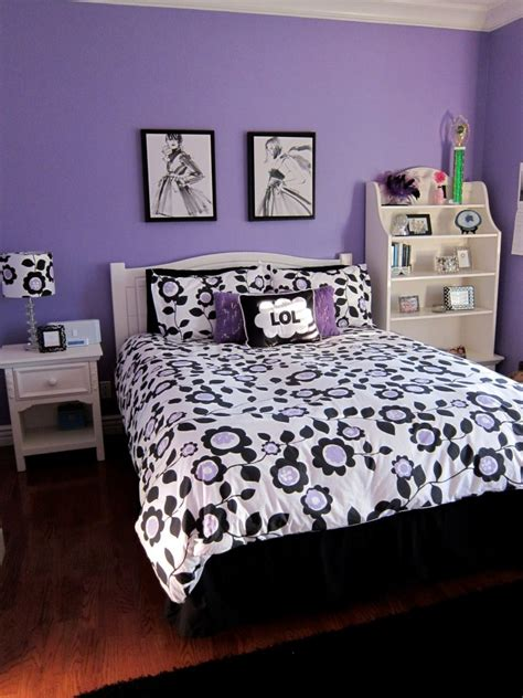 purple black white bedroom fabulous purple bedrooms interior designs ideas fnw 16856