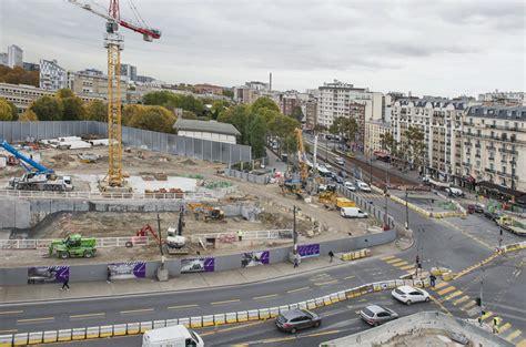 porte de clichy le chantier de la future station de la ligne 14 sauv 233 des eaux freemium