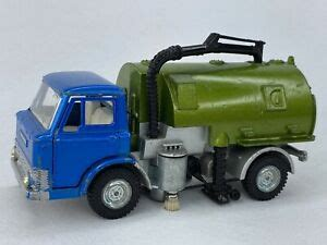 Dinky Toys # 451 Johnston Road Sweeper Vintage Diecast Toy ...