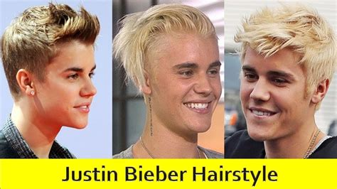 justin bieber hairstyle evolution   haircut