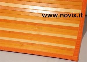Tapis Bambou Casa : tappeto bamb sfumato arancio 55x180 cm ~ Teatrodelosmanantiales.com Idées de Décoration