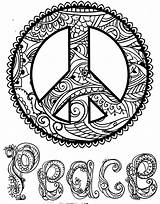 Peace Coloring Colouring Symbols Logos Icons Sharp Uploaded Symbol sketch template
