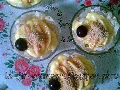recette de dessert aux pommes