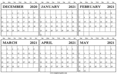 december     printable calendar blank