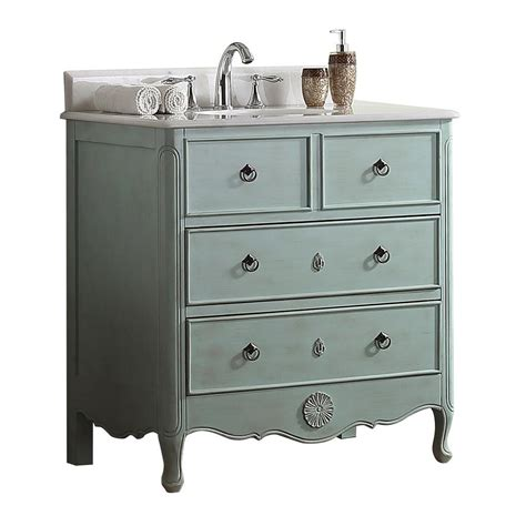 blue vanity top modetti provence 34 in w x 21 in d bath vanity in light
