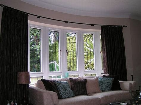 Beautiful Curtains For Living Room Curved Unique Curtain