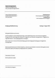 Word Datum Automatisch Berechnen : k ndigung handyvertrag vorlage text word pdf ~ Themetempest.com Abrechnung