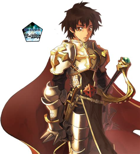 Anime Male Knight