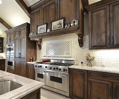 decorative etched stone mural  kitchen backsplash tile