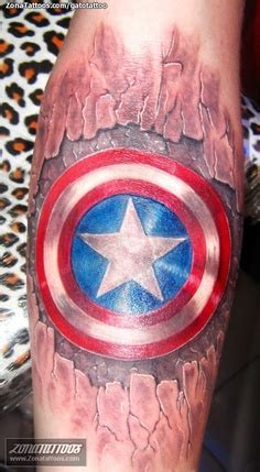 captain america tattoo top  designs   american hero