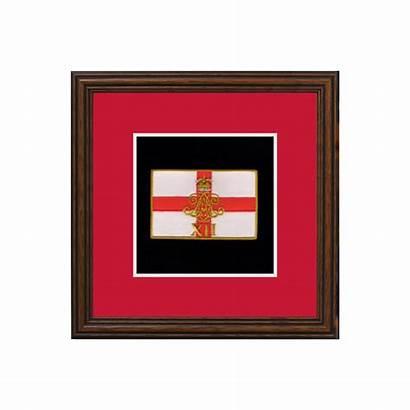 Ra Regiment Badge Framed Badges Display