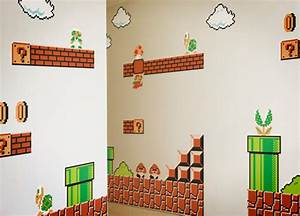 nr giveaway nintendo wall graphics featuring mario nerd With awesome mario brothers wall decals