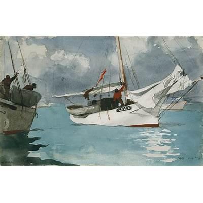 Winslow Homer - watercolorsWatercolors Painting