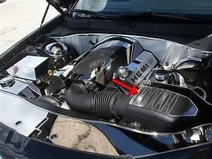 American Car Craft Perforated Air Box Cover  Chrysler 300c