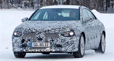 2020 Mercedes Cla Prototype Already Showing Amg Gt Concept