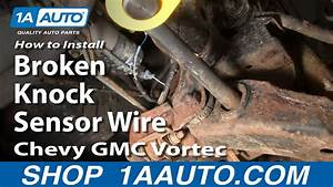 How To Replace Engine Knock Sensor 95