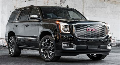 2018 Gmc Yukon Denali Ultimate Black Edition Brings The