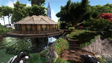 ark build redwood house la maison dans les arbres v2