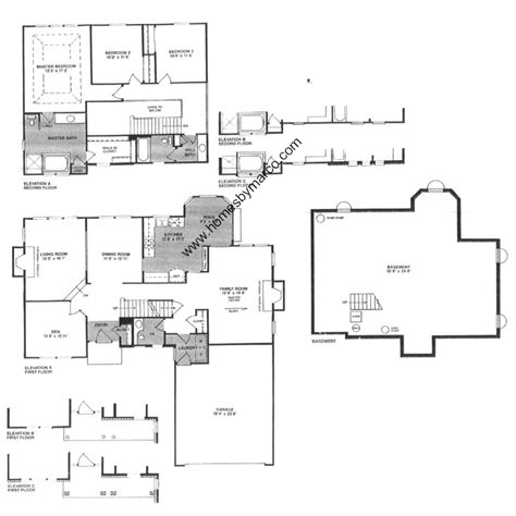 edgewood model in the grosse pointe village subdivision in