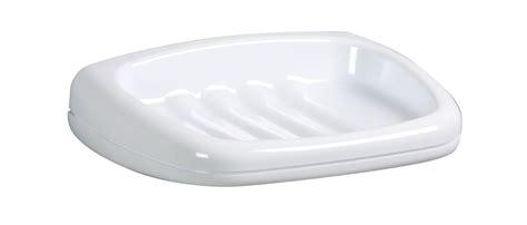 porte savon mural plastique blanc