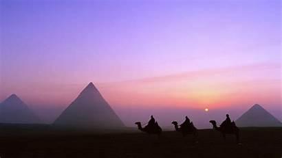 Egypt Pyramids Sunset Wallpapers 4k Cairo Ancient