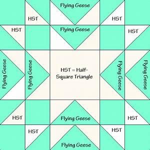 Star Gardner Quilt Block Diagram Free Pattern At
