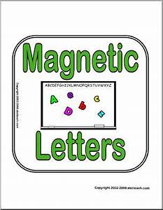 sign magnetic letters abcteach With large magnetic letters for signs