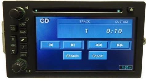 gm  trucksuv bose  lux tnr touchscreen navigation