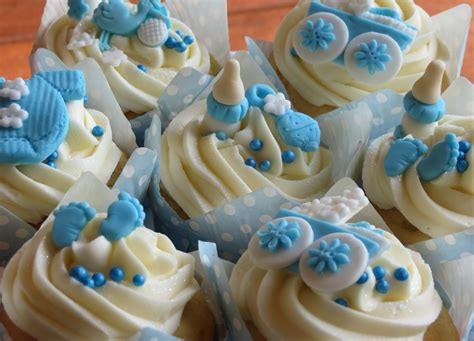 Baby Shower Cupcake Ideas - baby shower cupcakes for a baby boy baby boy cupcakes