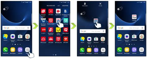 supprimer icone bureau samsung galaxy s7 gérez vos applications