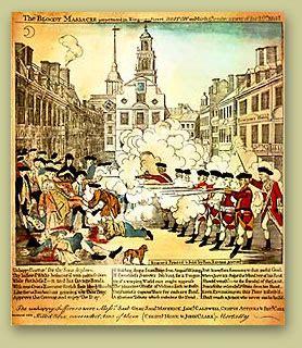 enlargement  paul reveres engraving   boston