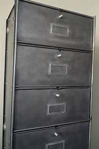 Casier Industriel Metal : ancien grand meuble 10 casiers industriel a clapet roneo 50 60 ~ Teatrodelosmanantiales.com Idées de Décoration