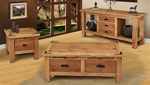 Rustic coffee table sets for Rustic coffee table and end table set