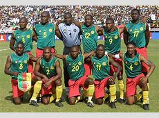 Cameroon once stuck a middle finger up to FIFA by wearing