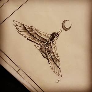 Isis Tattoo, Ägyptische Göttin and Isis on Pinterest