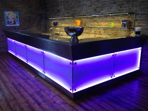 neon bar lights the coolest bar and clubs counters designed by