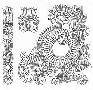 Henna Tattoo Schablonen : 1001 ideen wie sie ein henna tattoo selber machen ~ Frokenaadalensverden.com Haus und Dekorationen