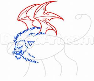 Drawing a Chimera Step by Step, Step by Step, Chimeras ...