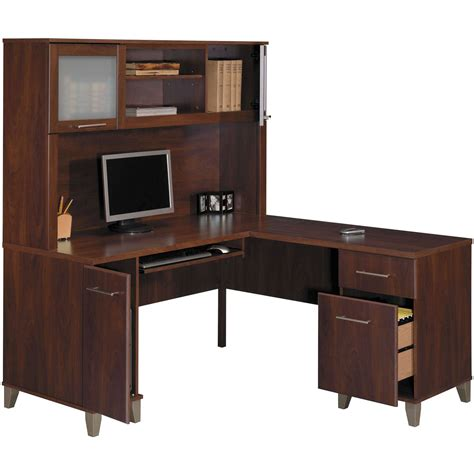 l shaped computer desk walmart walmart desk with hutch sauder beginnings desk with