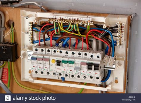 wiring diagram for domestic consumer unit exposed wiring in domestic consumer unit circuit breaker