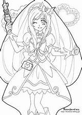 Coloring Pages Glitter Force Cure Pretty Printable Adult Sheets Books Line Stuff Sach To Mau Anime Coloriage Spray Indika Cool sketch template