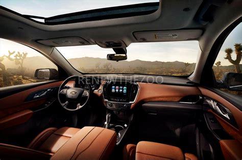 Chevrolet 2019 Chevy Traverse Suv Interior Concept 2019