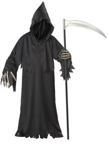 Walmart Halloween Wigs by Child Deluxe Grim Reaper Costume 00310 Fancy Dress Ball