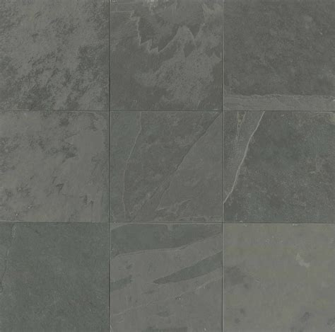 Country Grey Brushed   Los Angeles Slate Flooring Tile 16x16