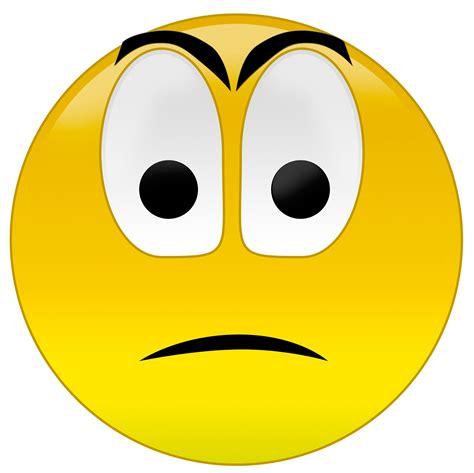 Smiley Faces Clip Emotions Clipart Sad Emoticon Pencil And In Color
