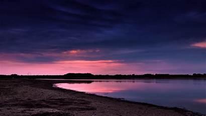 Night Beach Wallpapers Desktop 1080p Peace Rest