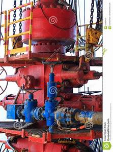 Blow Out Preventer  Bop  Stock Image  Image Of Oilrig