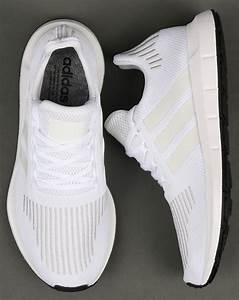 Adidas Swift Run Trainers White,shoes,running,prime knit ...