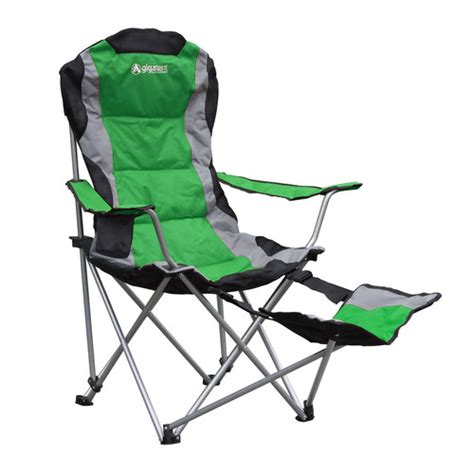 Lawn Chair With Footrest by Gigatent Folding Cing Chair With Footrest Reviews